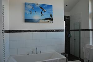 Badezimmer, Haus Seestern