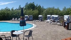 Hotel Lindner Pool, außen