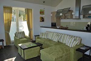 Haus Seestern - Wohnzimmer